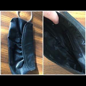 Aldo black PU Leather Clutch